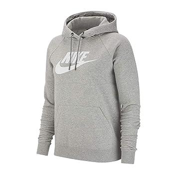 Nike felpa di sport a maniche lunghe per donna amazon grigio sportivo