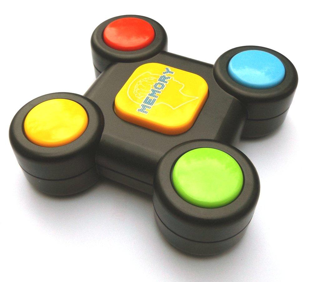 Memory Buzzer con luci e suoni, Memory giocattolo educativo per i più piccoli, lo sviluppo delle abilità motorie Brigamo