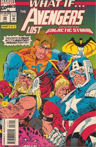 What If...The Avengers Lost Operation: Galactic Storm, No. 56