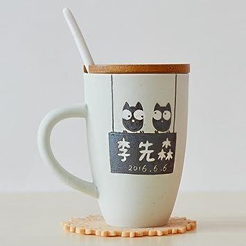 Deux Avec Tasses De Paire Céramique Mug D'une En Wu eWCBoQrxd