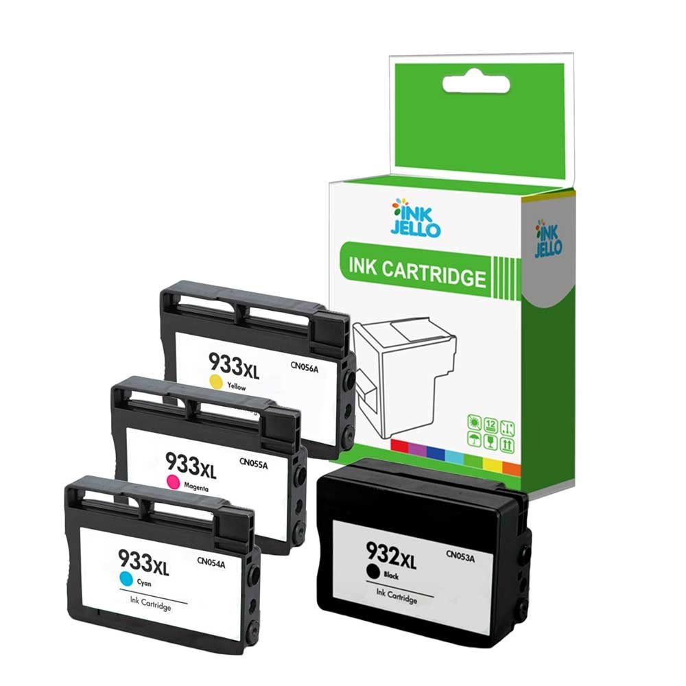 InkJello - Cartucho de Tinta Compatible para HP Officejet 6100 ...