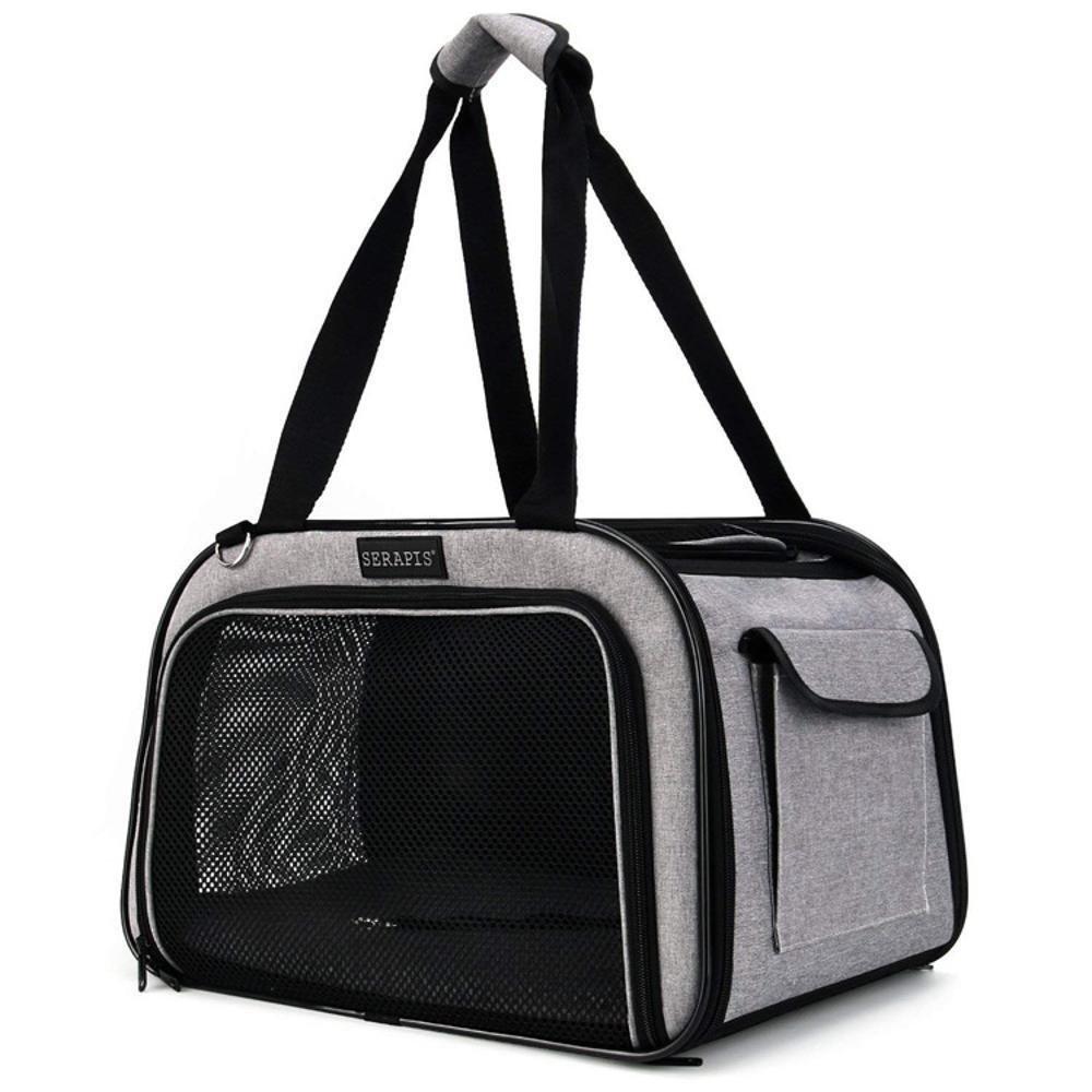 Dixinla Pet Carrier Backpack Oxford Tote Bag Portable dog bag cat cage, 38  24  24cm