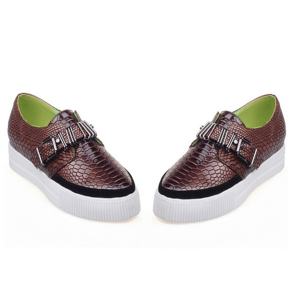 1TO9 Womens Buckle Platform Cobra Snakeskin Loafers MMS03278 Shoes MMS03278 Loafers B077MFHSFH Platform dac1be