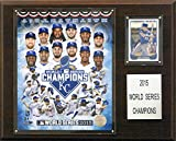 "MLB Kansas City Royals 2015 World Series Champions Plaque, 12""x15"""