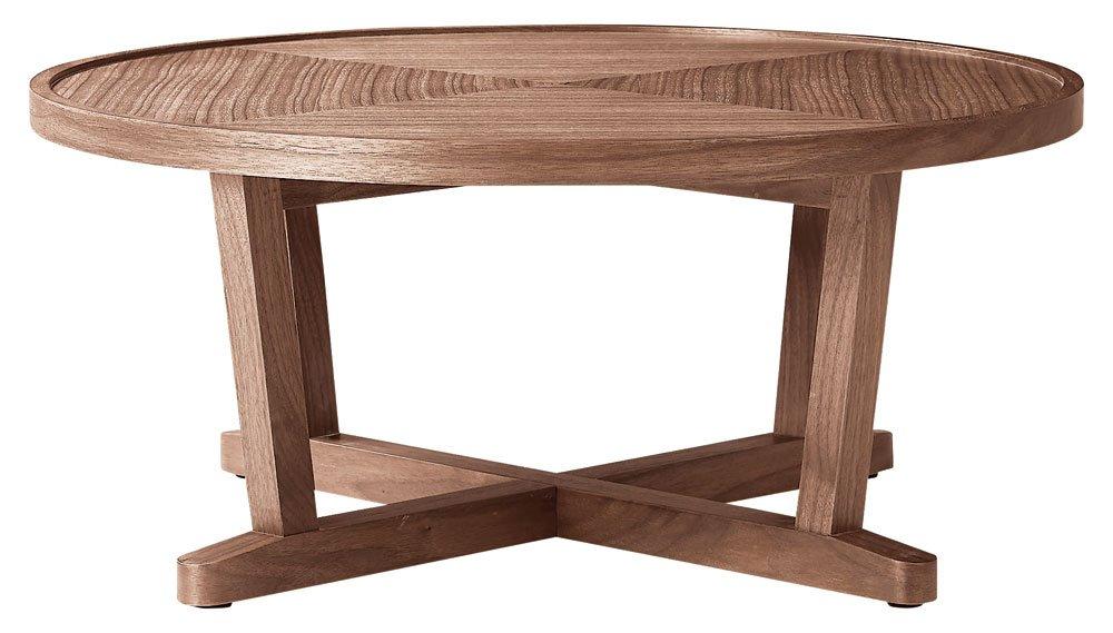 ホームデイ リビングテーブル LT-63-W ウォールナット 幅80×奥80cm B079HXR37C ウォールナット 幅80×奥80cm