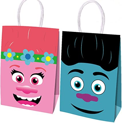 Kids Party Thank You Favors  Children/'s Birthday Party Favor Bag  Tribal Theme Birthday Candy Bag  Tribal Party Decoration BBI-100