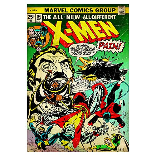 CafePress The All New, All Different X Men Wall Art Poster