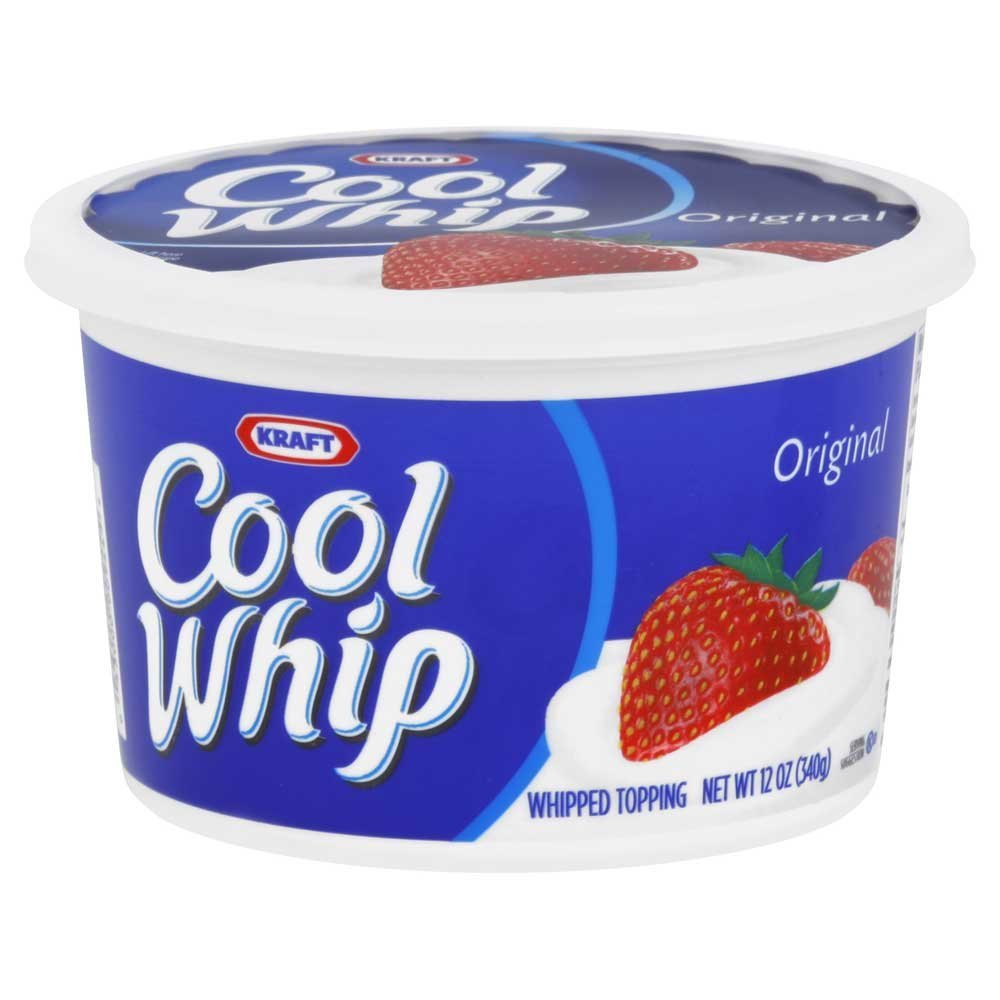 Kraft Frozen Cool Whip Whipped Topping, 12 Ounce -- 12 per case.
