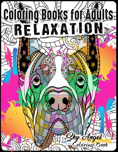 Download Coloring Books for Adults Relaxation: Lovely Dogs Designs: Doodle Dogs Coloring Book For Adults Patterns Coloring Books For Relaxation, Fun, and Stress Relief (Volume 7) pdf