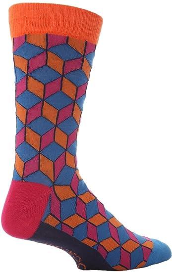 Mens 1 par SockShop atreven a usar Novedad calcetines en caja de regalo - CUBOS DE