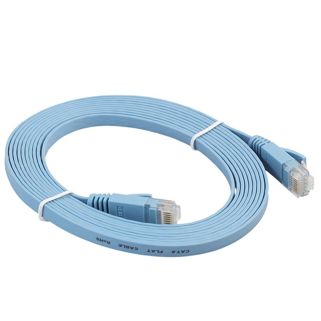 Cable Red Categoría Cat6 Utp Rj45 Ethernet Plano Categoria 6 Modem ...