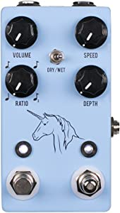JHS Unicorn V2 Analog Univibe with Tap Tempo Guitar Effects Pedal