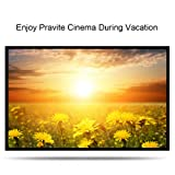 NewPal foldable projection screen 16:9 4:3