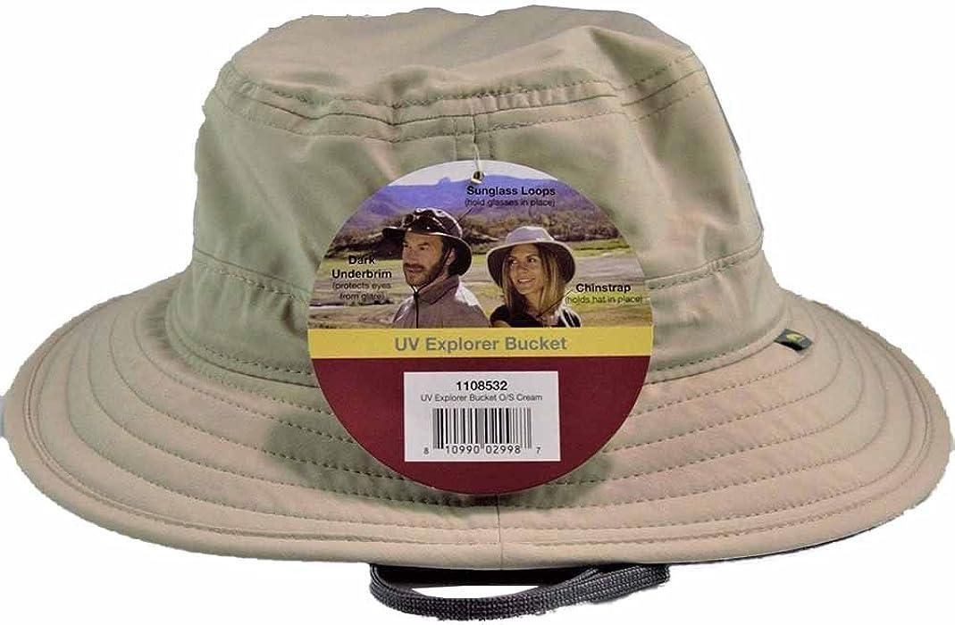af1c8c10 Amazon.com: Solar Escape uv Explorer Bucket Hat UPF 50+. One Size ...