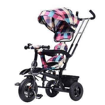 QILEGN Carrito de bebé Carrito de bebé Cochecito de bebé, Bicicleta, Rueda a Prueba