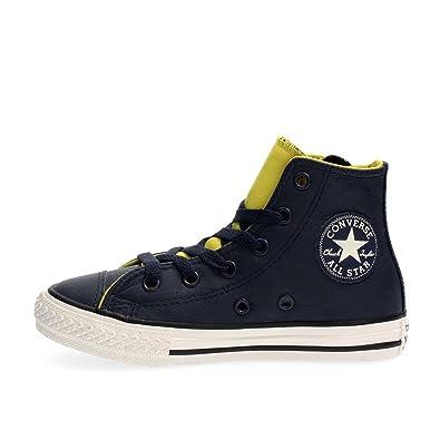 39fd155b051fef Converse 655164C All Star HI Side Zip Sneakers Unisex Junior  Amazon ...