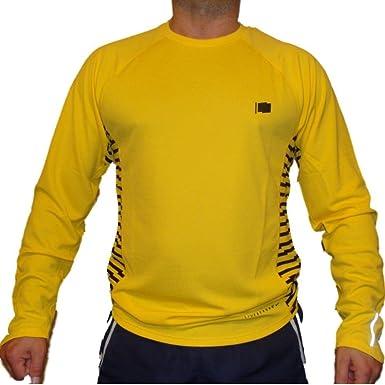 f74f8e06 Nike Livestrong Miler Mens Long Sleeve Running Top (Small): Amazon ...