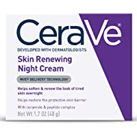 Skin Renewing Night Cream | Niacinamide, Peptide Complex, and Hyaluronic Acid Moisturizer for Face | 1.7 Ounce, 1 Pack…