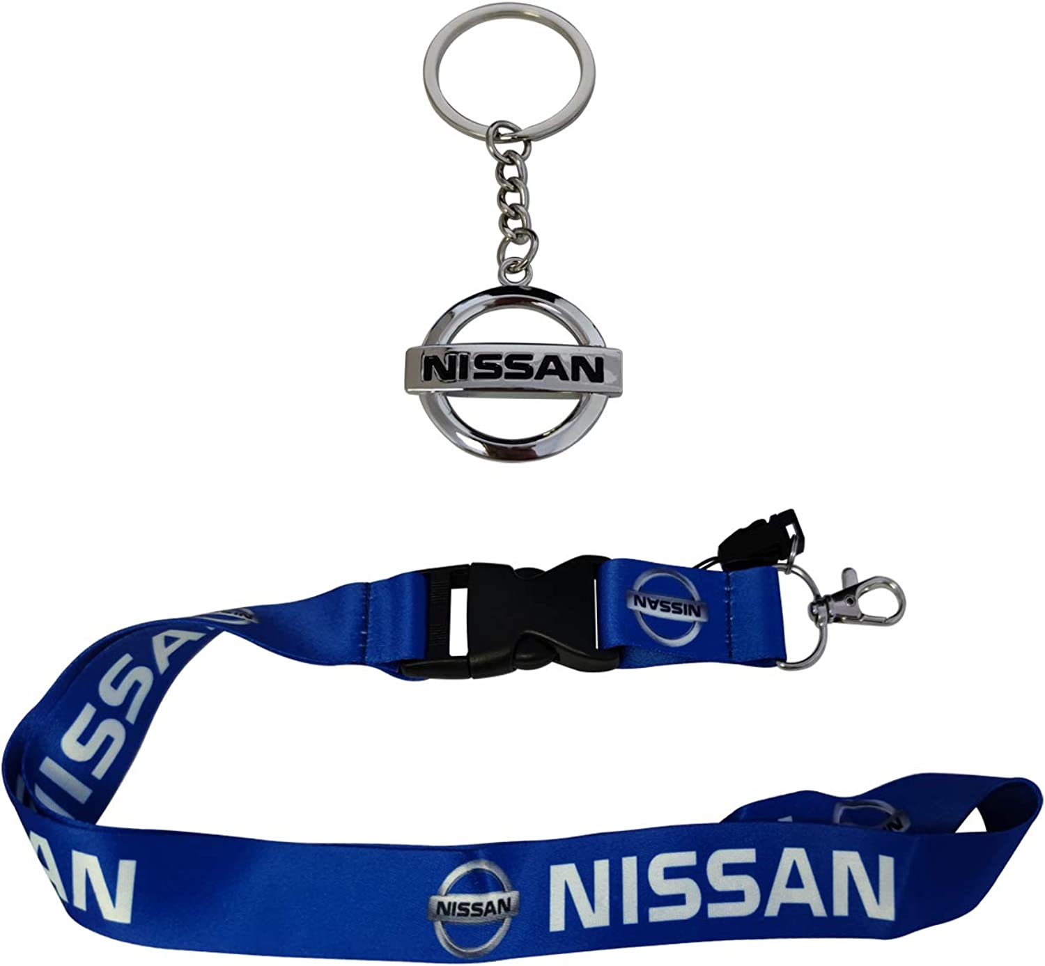 1pc Lanyard /& 1pc Metal Key Chain For Accessories Gift Fashion Car SUV Truck Motorsport Racing Man Women Fashion Clasp
