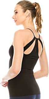 product image for Kurve Women's Workout Tank Top - Seamless Lightweight Racerback Camisole Stretchy Athletic Sports Yoga Tops (Made in USA)