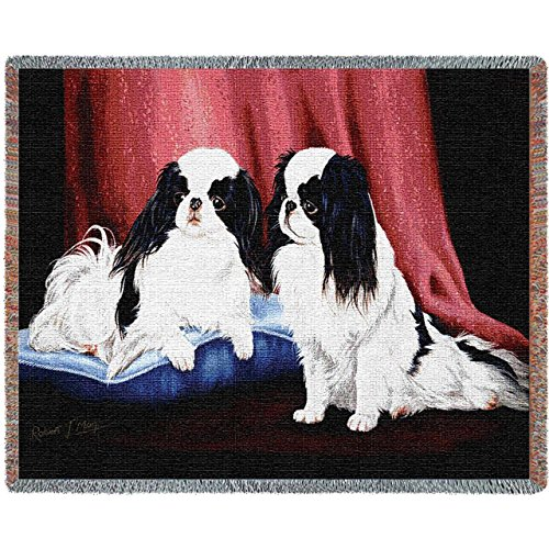 Pure Country 1440-T Japanese Chin Pet Blanket, Various Blended Colorways, 53 by 70-Inch