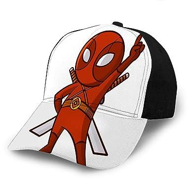 Amazon.com: Adult Adjustable Superhero Red Ninja Baseball ...