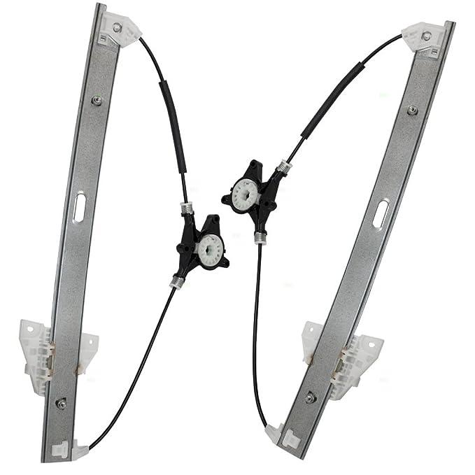 Driver and Passenger Front Power Window Lift Regulators Replacement for Mazda SUV EG21-59-590B EG21-58-590B