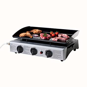 Acero inoxidable gas Barbacoa Outdoor - Camping Grill ...
