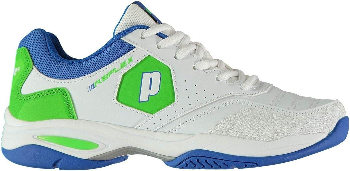 Prince Reflex Mädchen Tennisschuhe Weiß Turnschuhe Schuhwerk
