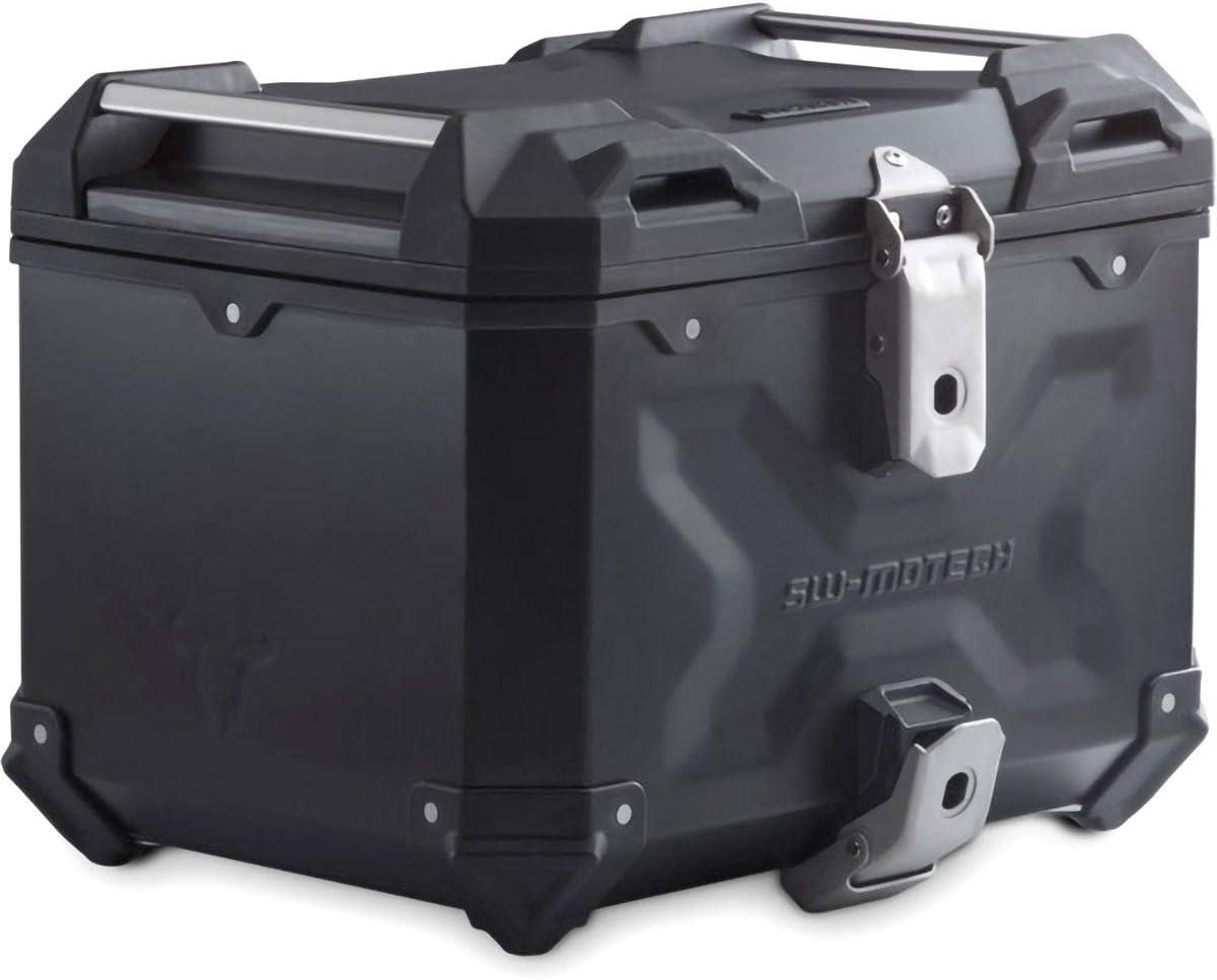 Sw Motech Trax Adv Aluminium Top Case 38l Black Auto
