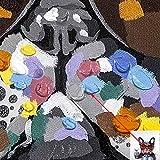 Bignut Art Wine Bulldog Oil Painting Hand Painted