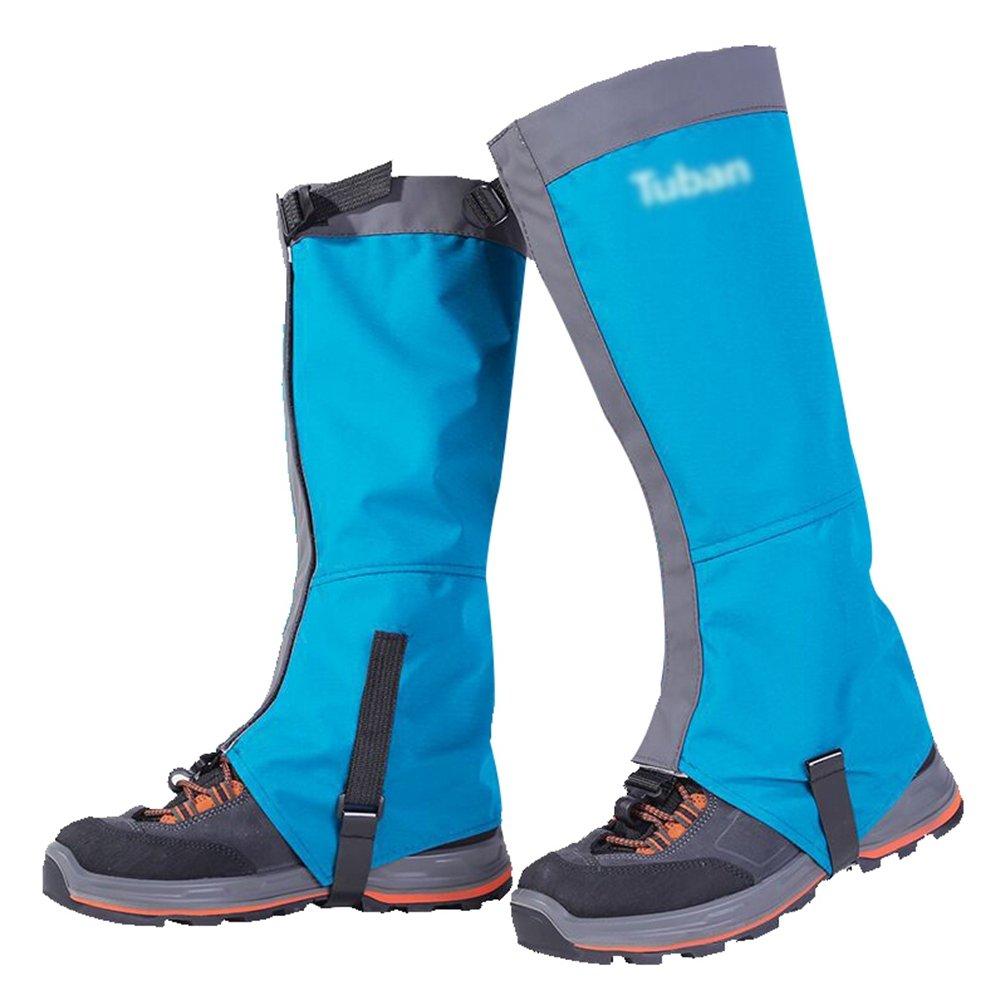YiLianDa Unisex Al Aire Libre Montaña Nieve Legging Polainas Impermeable Y A Prueba De Viento Zapatos Cubierta Para Senderismo Esquí Senderismo Escalada Caza