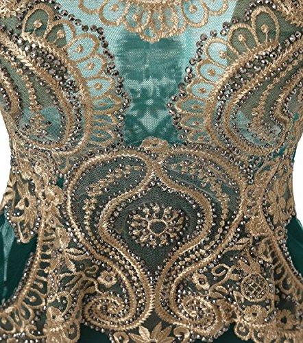 À Long Watteau Train Royal Robe De Soirée Formelle De Robe De Soirée De Mariage Des Femmes De Annie