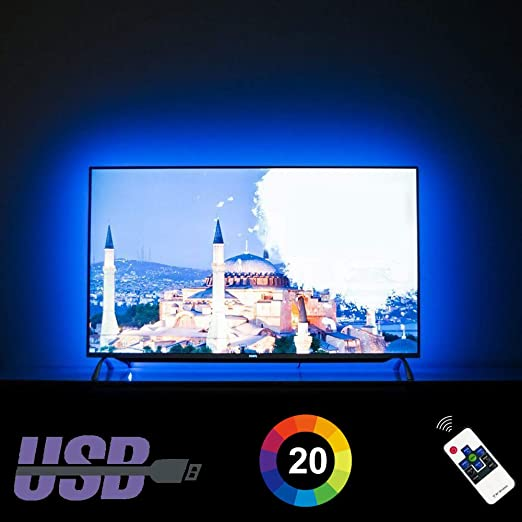Amazon.com: HAMLITE LED TV Backlight 60 65 Inches TV Bias Lighting