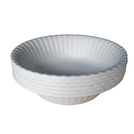 Picnique Reusable Paper Plate Bowl - 6u201d Diameter - Picnic u0026 Dinner Melamine Bowls for  sc 1 st  Amazon.com & Amazon.com | Picnique Reusable Paper Plate Bowl - 6