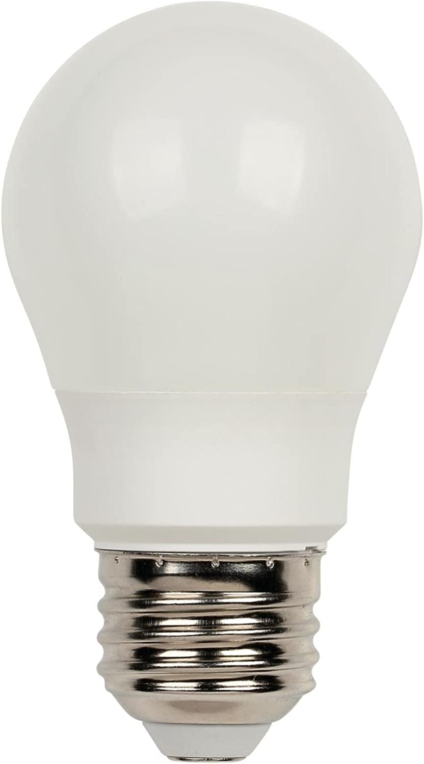 Westinghouse Lighting 4513600 60-Watt Equivalent A15 Soft White LED Light Bulb with Medium Base, Single Pack