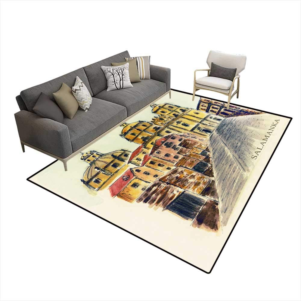 Amazon.com: Room Home Bedroom Carpet Floor Mat Spain ...