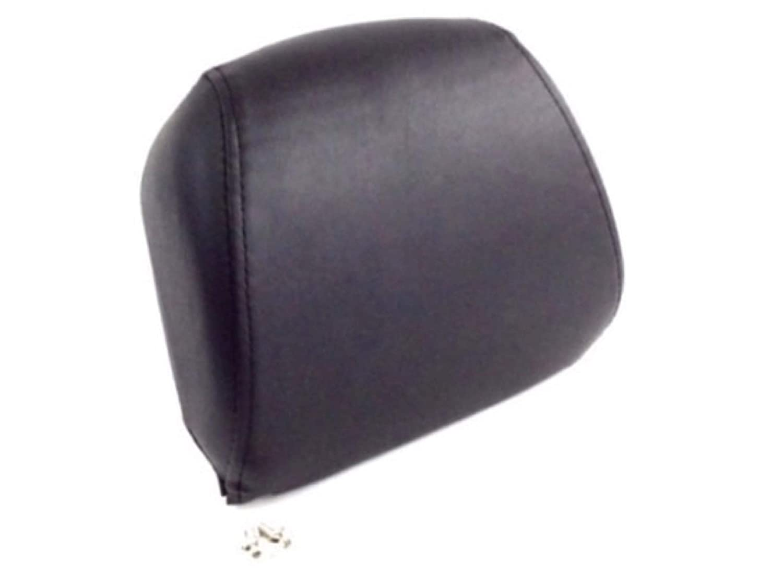 Passenger Backrest Pad for Harley Davidson Dyna Softail Sportster ref 52631 07 Fits One Piece Sissy Bar Uprights