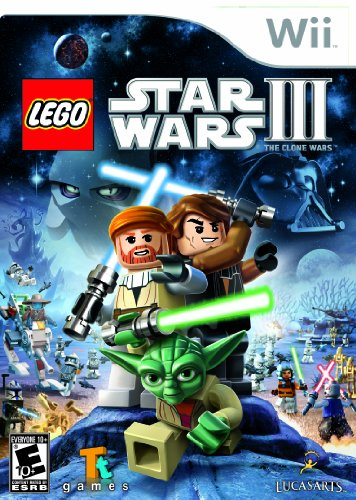 Lego Star Wars III: the Clone Wars - Nintendo Wii (Lego Star Wars The Complete Saga Help)