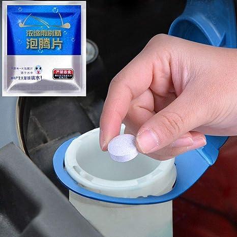Liqiqi - 15 Pastillas de Limpieza concentradas para el Parabrisas del Coche (1 Unidad)