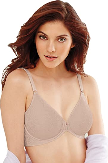 5fd902987f Image Unavailable. Image not available for. Color  Bali Comfort Revolution  Front Close Underwire Bra ...