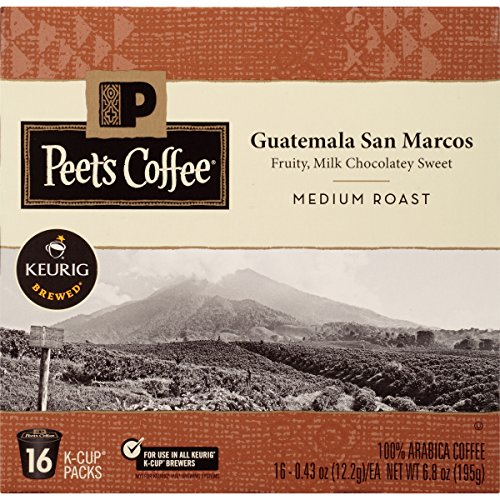 Peet's Coffee Guatemala San Marcos, Medium Roast, 16ct K-Cup Pack (Guatemala K Cup Coffee)
