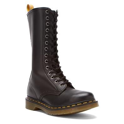 Dr Martens Women s Vegan 1B99 Felix Rub Off 14-Eye Lace-Up Boot Black Size  7  Amazon.co.uk  Shoes   Bags 725ca80c6d