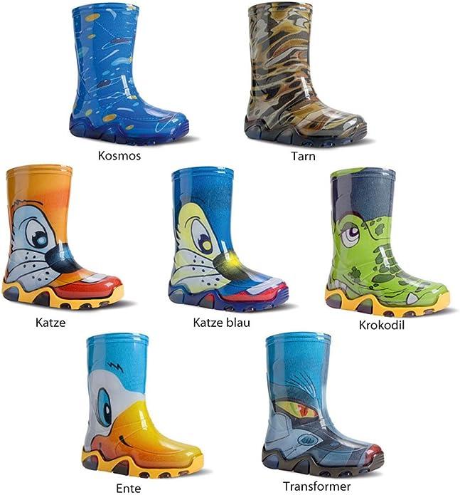 Demar Stormer Transformer Rain boots