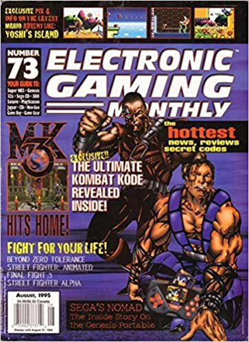 Electronic Gaming Monthly - Issue #73 - August 1995 (Mortal