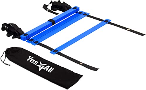 Speed Agility Training Ladder with Carry Bag (Football, Fitness, Soccer, Athletic) [Yes4All] Picture