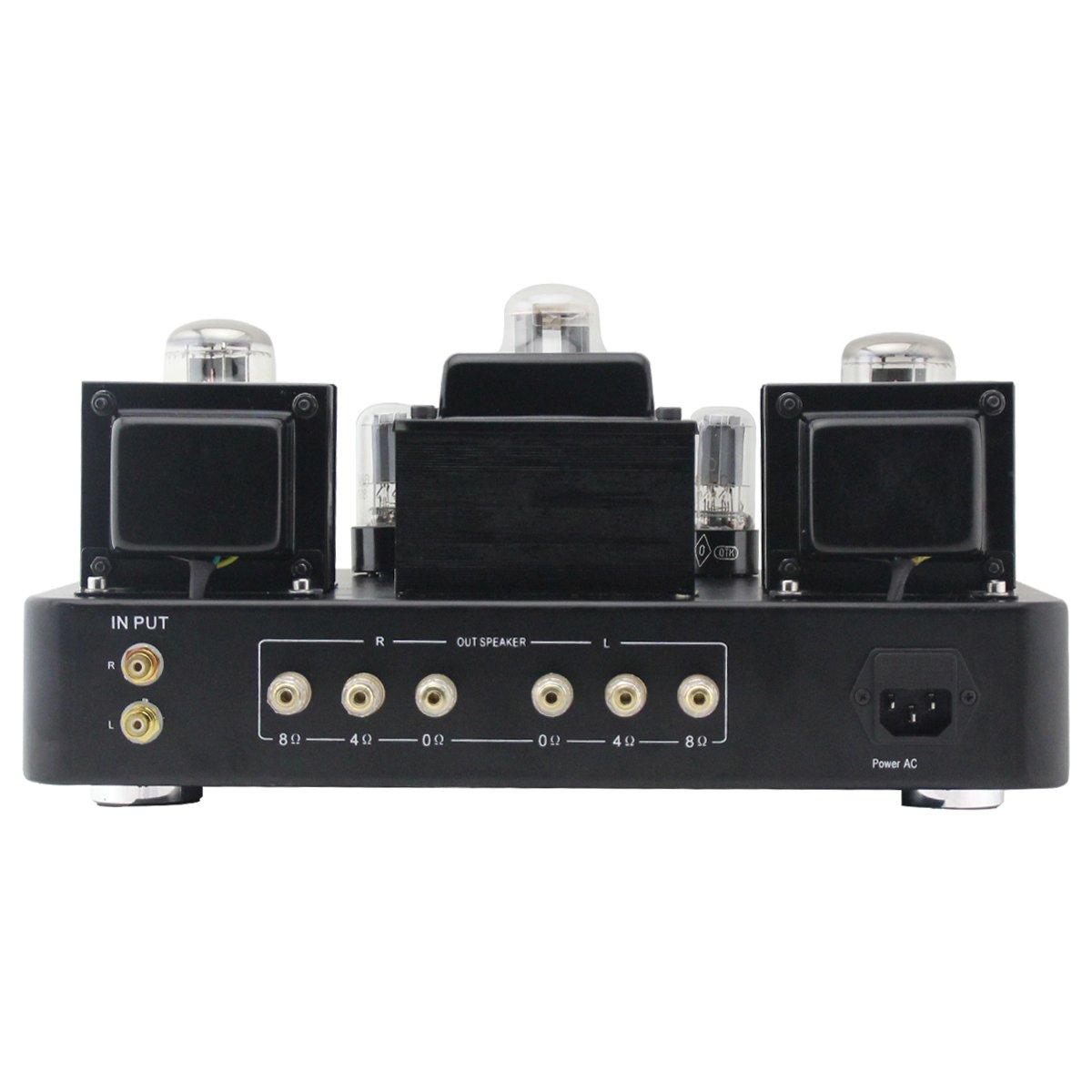 Gemtune Gs 02m Hi Fi Integrated Tube Amplifier W Vu The Configuration Is Classic Power Supply 5y3 Rectifier Level Metertube Kt88x2 6h8cx2 5z3px1 Electronics