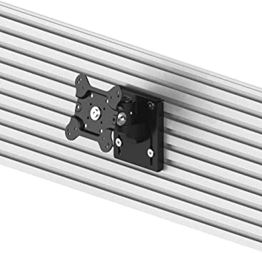 Amazon Com Cotytech Vesa Wall Mount For All Slatwalls Easy Install Low Profile Design Quick Release Mount Vesa 75x75 100x100 Supports Tv Flat Screens Or Monitor Displays