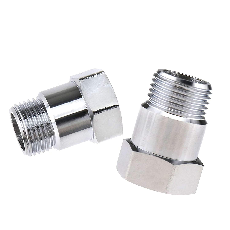 O2 Oxygen Sensor Measuring Tube Extension Adaptor Distance M18 x 1.5 Bun Pack of 2