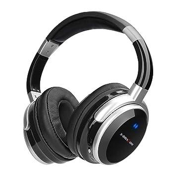 Casque Bluetooth X-DRAGON Casque Audio Sans Fil Réduction Active de Bruit  Réglable Écouteurs Stéréo avec Microphone Intégré, Hi-Fi Deep Bass ...